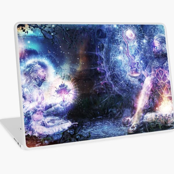Shoulders And Giants Laptop Skin