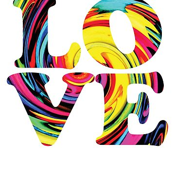 Love Rainbow Flag LGBT Gay Pride 1 by BOBSMITHHHHH
