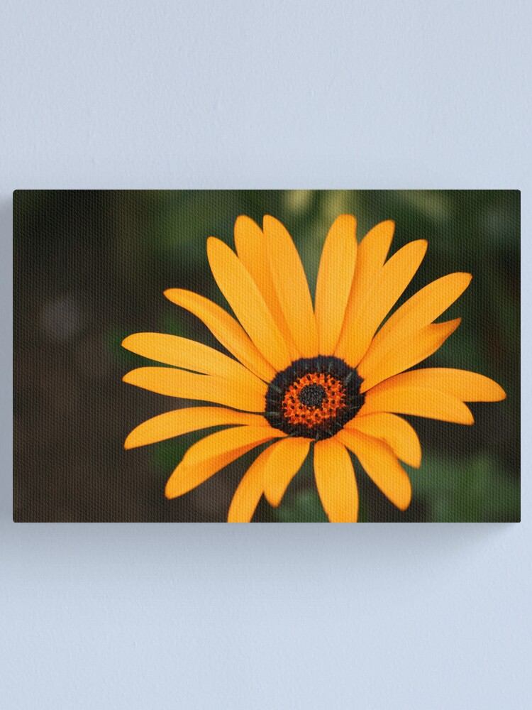 Alternate view of Flower Canvas Print