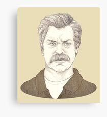 It's Ron Swanson Canvas Print