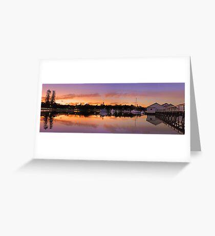 Mosman Bay At Dusk  Greeting Card