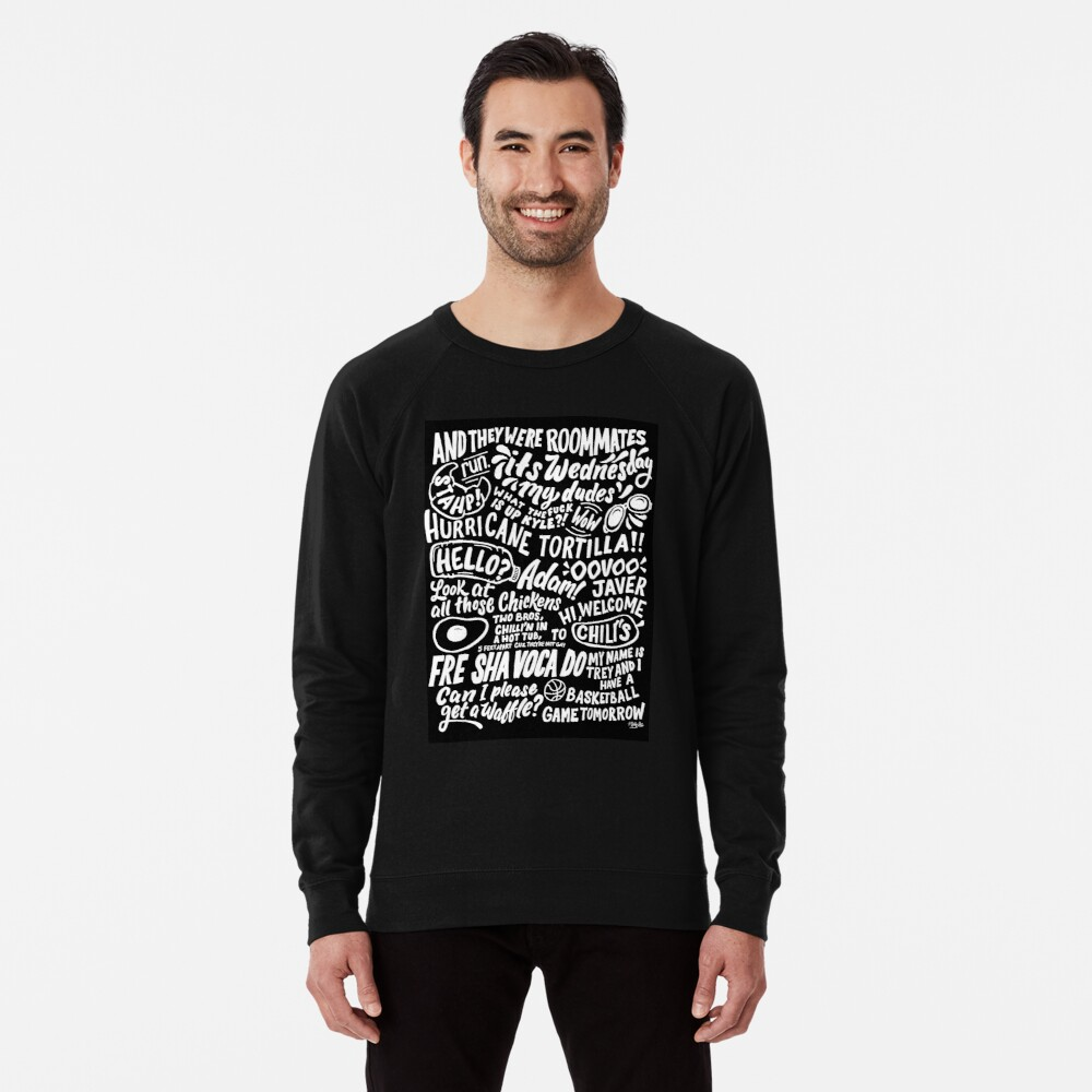 Vine App Art  Lightweight Sweatshirt