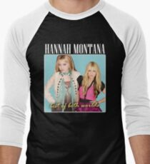 Hannah Montana - 90's inspired design Men's Baseball ¾ T-Shirt