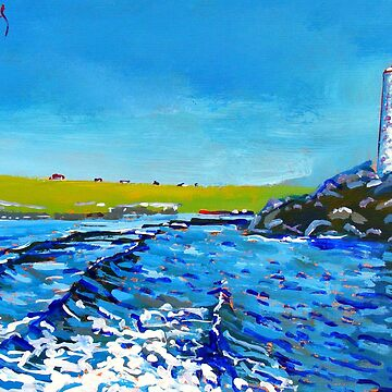 Inishbofin Harbour by eolai