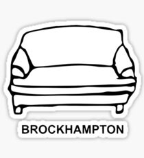 brockhampton classic Sticker