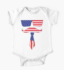 Cool classy  patriot  One Piece - Short Sleeve