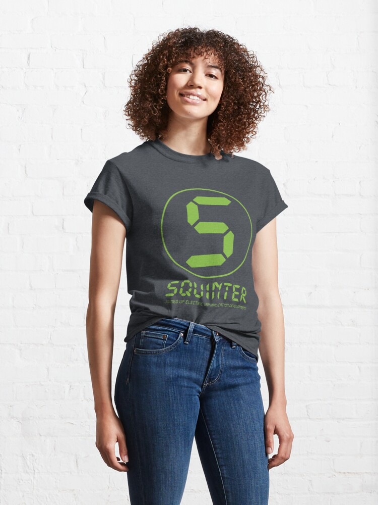 Alternate view of Squinter Icon Classic T-Shirt