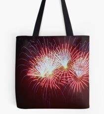 Blue, Red, White Tote Bag