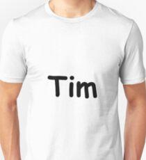 Font Name Tim Unisex T-Shirt