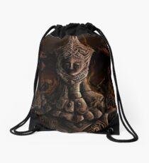Burnt Drawstring Bag