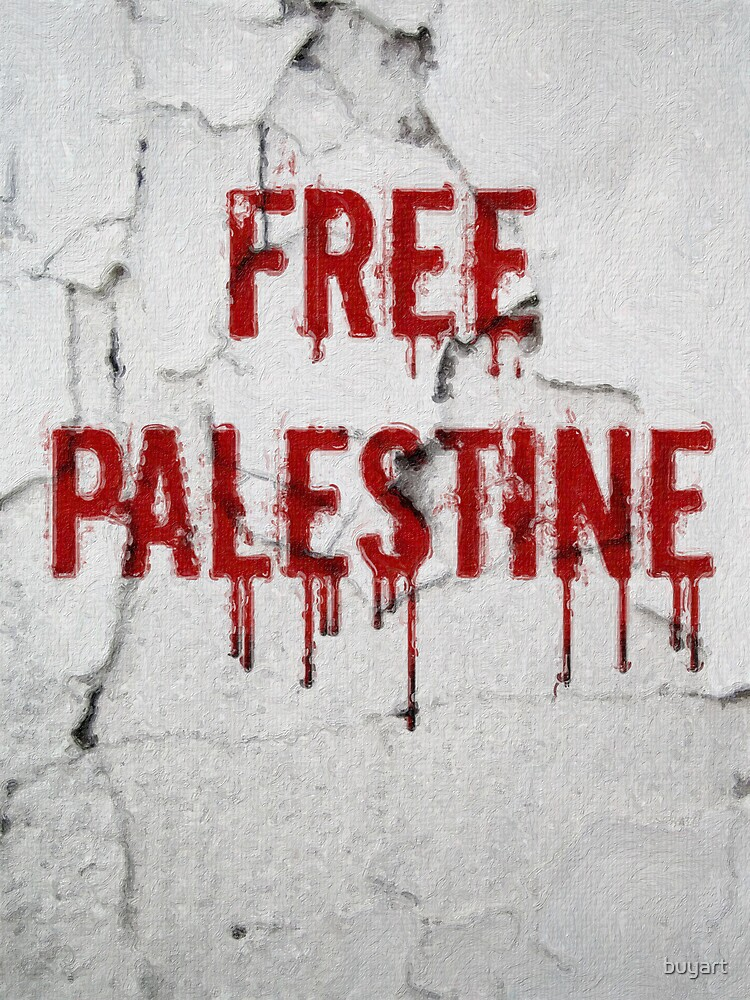 Free Palestine - painted by buyart