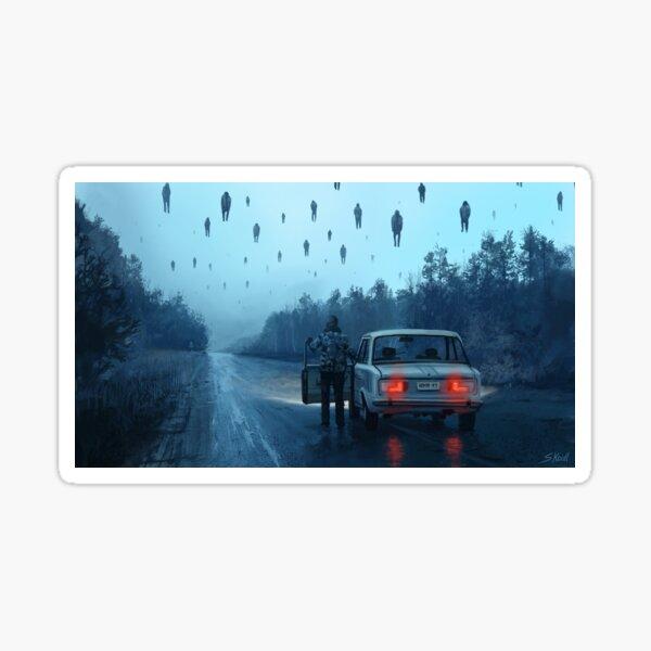 Chernobyl HorrorStory1 Sticker