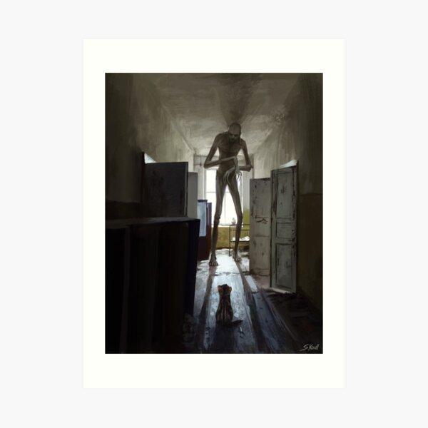 Chernobyl HorrorStory2 Art Print