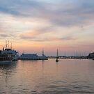 Sunset  in Zadar by Dalmatinka