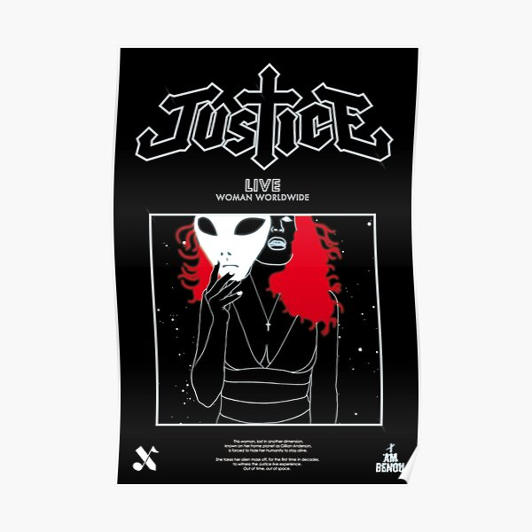 Justice Live Poster Poster