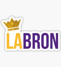 Lebron James - LaBron Sticker