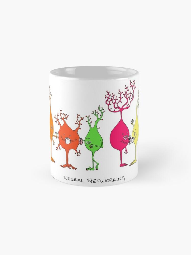 Alternate view of Neural Networking Mug