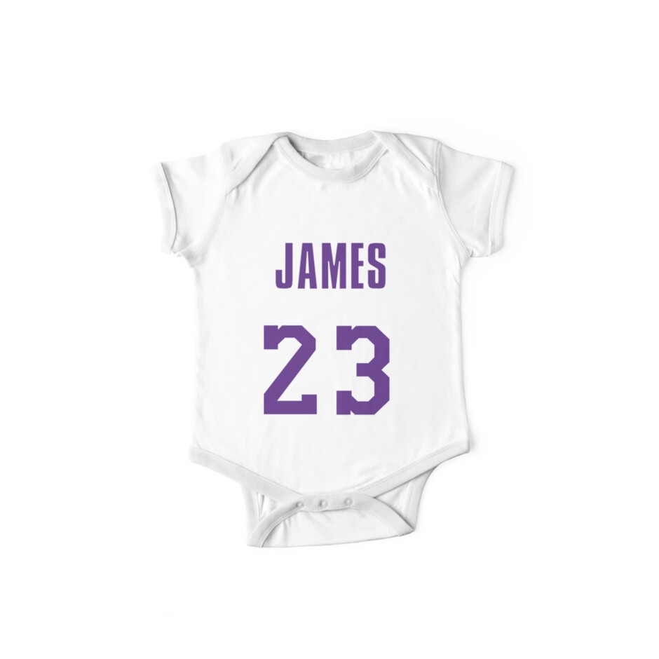 20bea34cc599 LeBron James Throwback Lakers Jersey 1