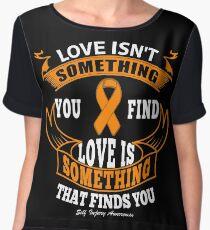Love Will Find You! Self Injury Awareness  Chiffon Top