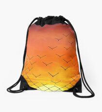 Sunset Escape  Drawstring Bag