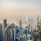 Hongkong sunset by Pascal Deckarm