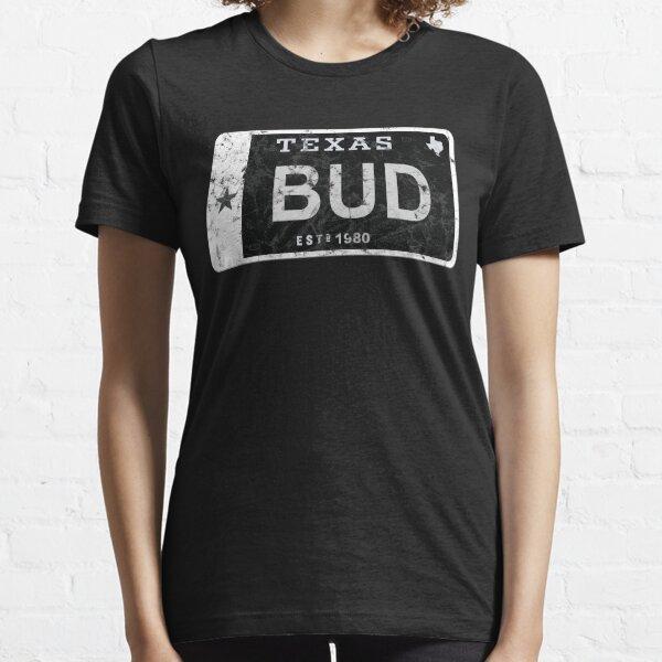 Bud Texas Plate Essential T-Shirt