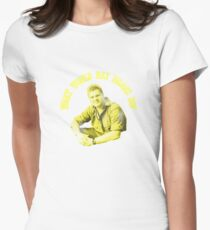 What would Ray Mears Do? Womens Fitted T-Shirt