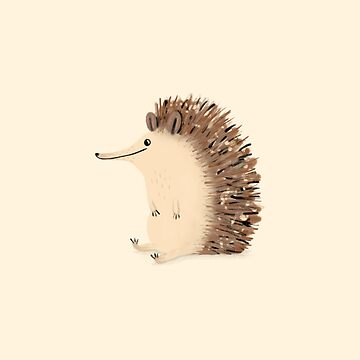 Happy Hedgehog Sketch by SophieCorrigan