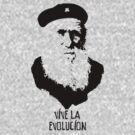 Charles Darwin - Vive la Evolucion! by redsushi1
