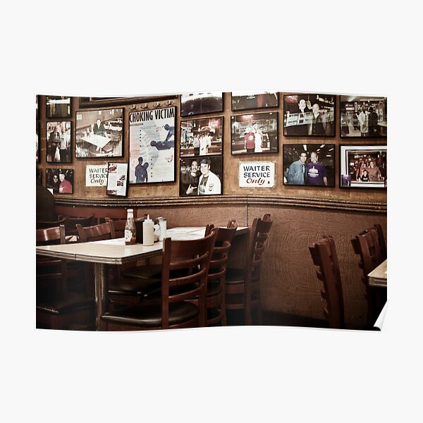 The Katz cafe, New York Poster