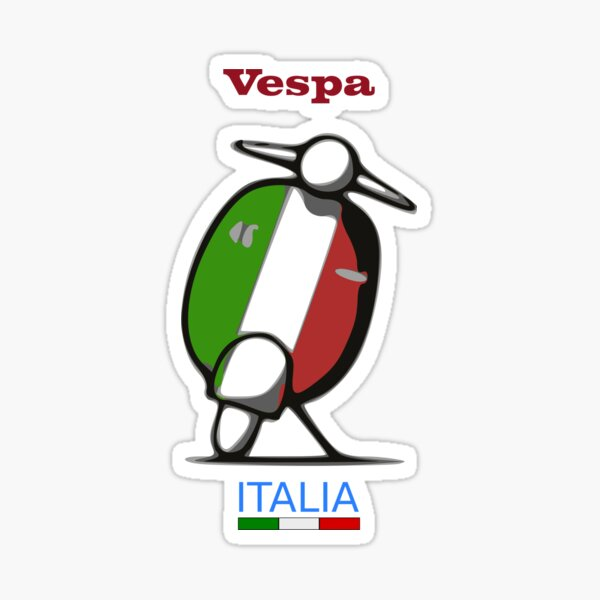 Vespa - Italie Sticker