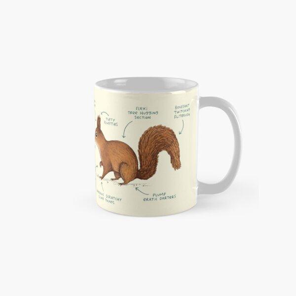 Anatomy of a Squirrel Classic Mug