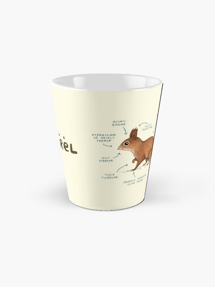 Alternate view of Anatomy of a Squirrel Mug