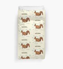 Anatomy of a Squirrel Duvet Cover