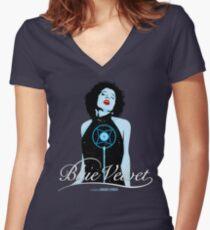 Blue Velvet - Dorothy Vallens Women's Fitted V-Neck T-Shirt