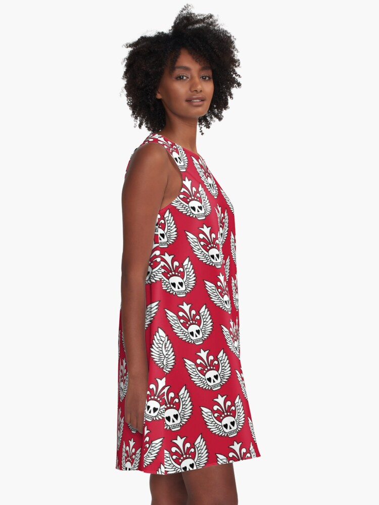 Alternate view of Fly. Be free. A-Line Dress