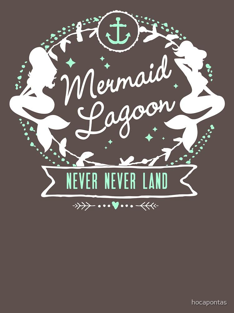 Mermaid Lagoon // Never Land // Peter Pan | Women's T-Shirt