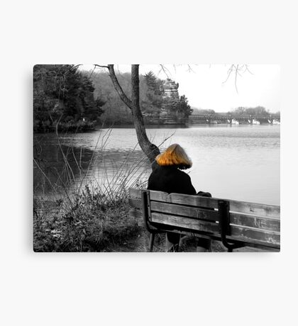 The Red Headed Stranger Canvas Print