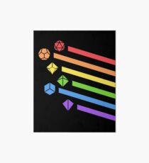 Lámina rígida Rainbow Polyhedral Dice Set