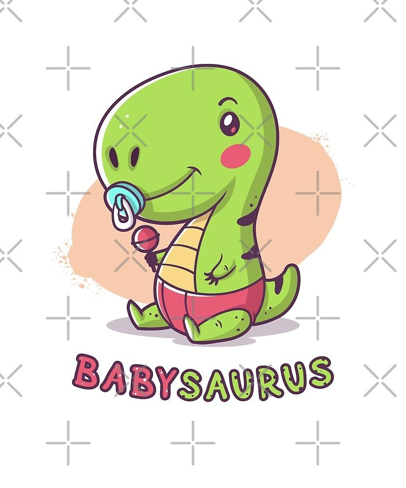 Babysaurus Rex by zoljo