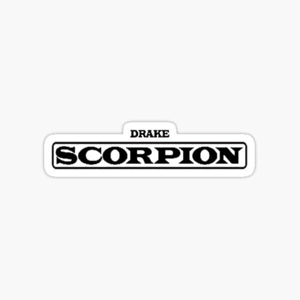 DRAKE-SCORPION Sticker