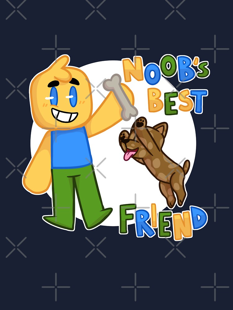 Noobs Shirt Support Noobs Roblox Roblox Noob With Dog Roblox Inspired T Shirt Kids T Shirt By Smoothnoob Redbubble