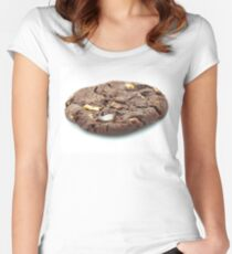 Chocolate Cookie Women's Fitted Scoop T-Shirt