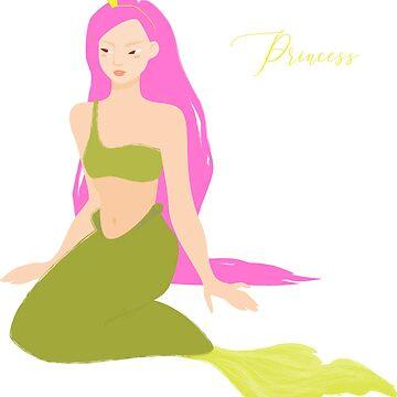 Cute little mermaid by Anviczo