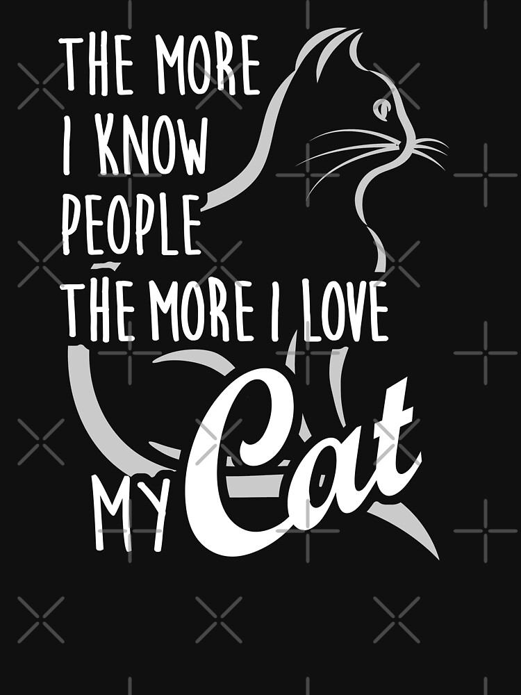 Love my cat more than People by Vectorbrusher