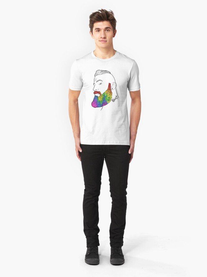 Alternate view of Dylan - Pride Edition Slim Fit T-Shirt
