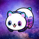 «Kawaii Galactic Mighty Panda» de EuGeniaArt