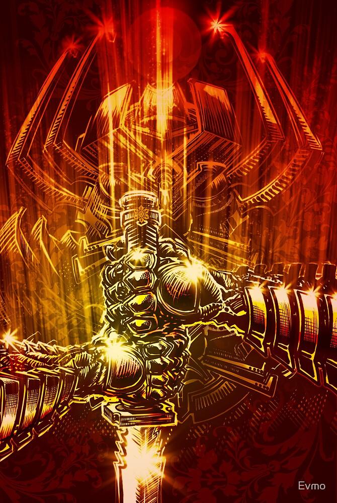 Samurai Swordstroke by Evan F.E. Lole