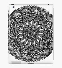mandala flower iPad Case/Skin