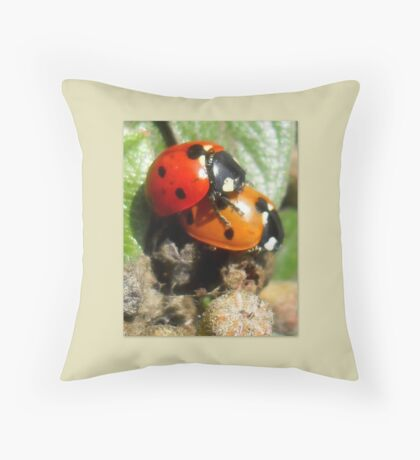 Celebrating the summer of LOVE Throw Pillow